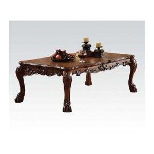 DRESDEN BROWN PU COFFEE TABLE Model 2