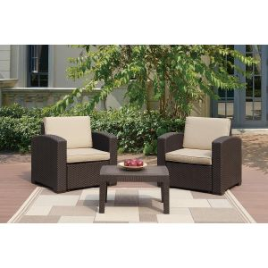 POUNDEX 3-PCS OUTDOOR SOFA SET 136