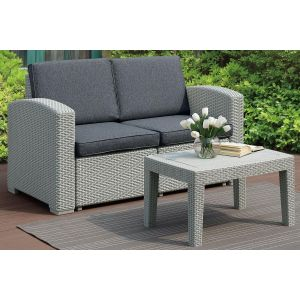 POUNDEX 2-PCS OUTDOOR SOFA SET 140