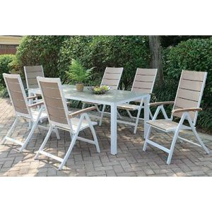 POUNDEX 7-PCS OUTDOOR DINING SET 258