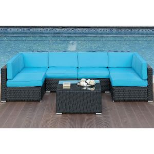 POUNDEX 7-PCS SECTIONAL SECTIONAL 456