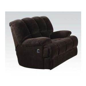 AHEARN CHOCOLATE RECLINER