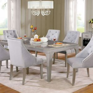 Diocles Silver Gray Table