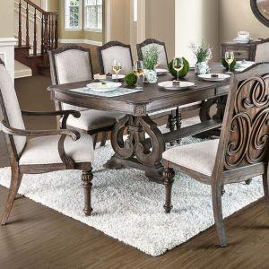 Arcadia Rustic Natural Tone Table