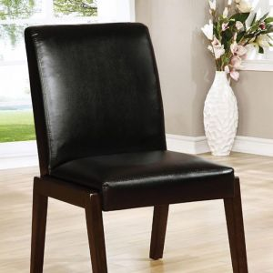 Belinda I Espresso Table Chair(2PK)