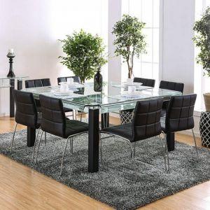 Batesland I Matte Black Table