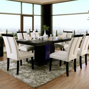 Evangeline Black Beige Table