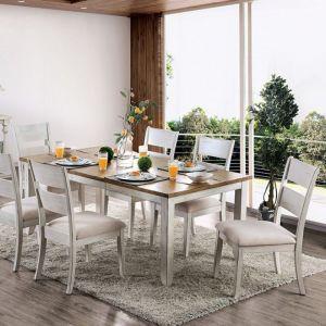Bridgid Antique White Oak Table