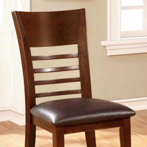 Hillsview Brown Cherry Espresso Table Chair(2PK)