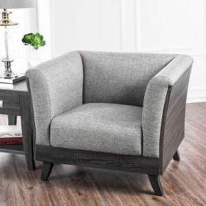 Cailin Light Gray Gray Chair