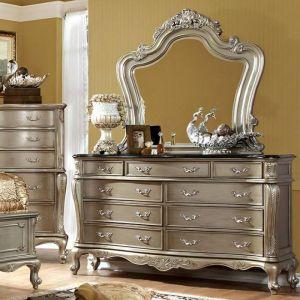 Johara Gold Black Dresser