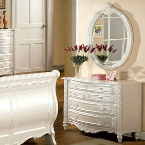 Alexandra Pearl Off White Dresser