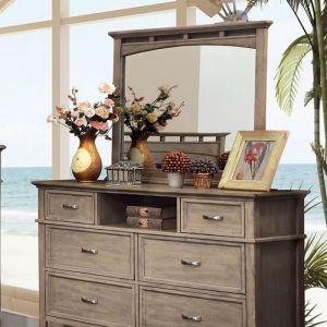 Loxley Weathered Oak Dresser