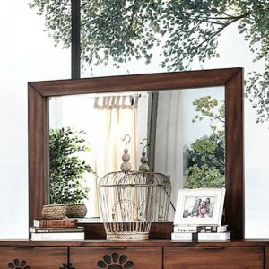 Amarantha Dark Oak Mirror
