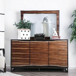 Fulton Dark Oak Dark Walnut Dresser