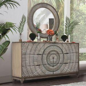 Kamalah Antique Gray Dresser