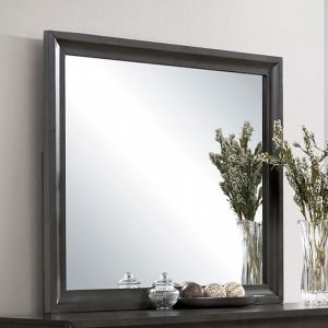 Clotilde Antique Gray Mirror