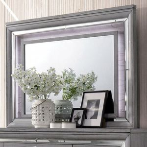 Alanis Light Gray Mirror