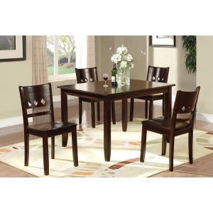 POUNDEX 5-PCS DINING SET F2242
