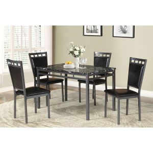 POUNDEX 5-PCS DINING SET F2389