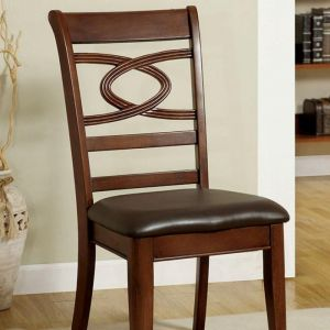 Carlton Brown Cherry Table Chair(2PK)