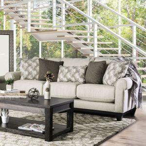 Asma Beige Gray Sofa