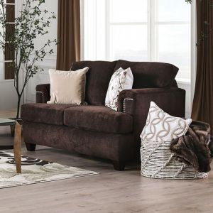 Brynlee Chocolate Loveseat