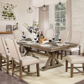 Julia Light Oak Beige Table