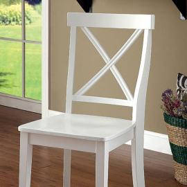 Penelope White Table Chair(2PK)