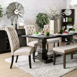 Nerissa Antique Black Table