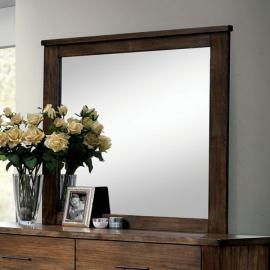 Elkton Antique Oak Mirror