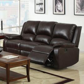Oxford Rustic Dark Brown Sofa